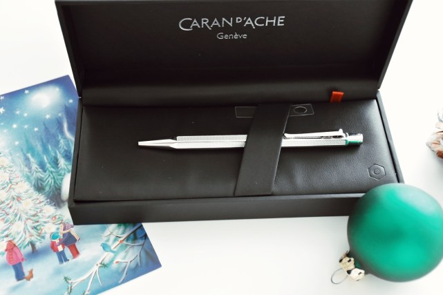 Caran d'Ache pen with engraving of initials