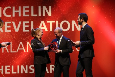 Marie Robert, chef of the Café Suisse, receives the MICHELIN Young Chef Award 2020 sponsored by BlancPain.