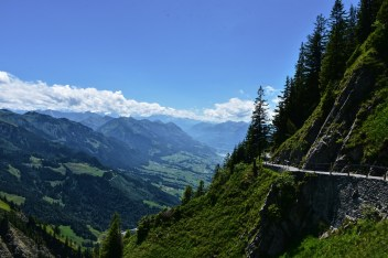 Hiking trails on Stanserhorn