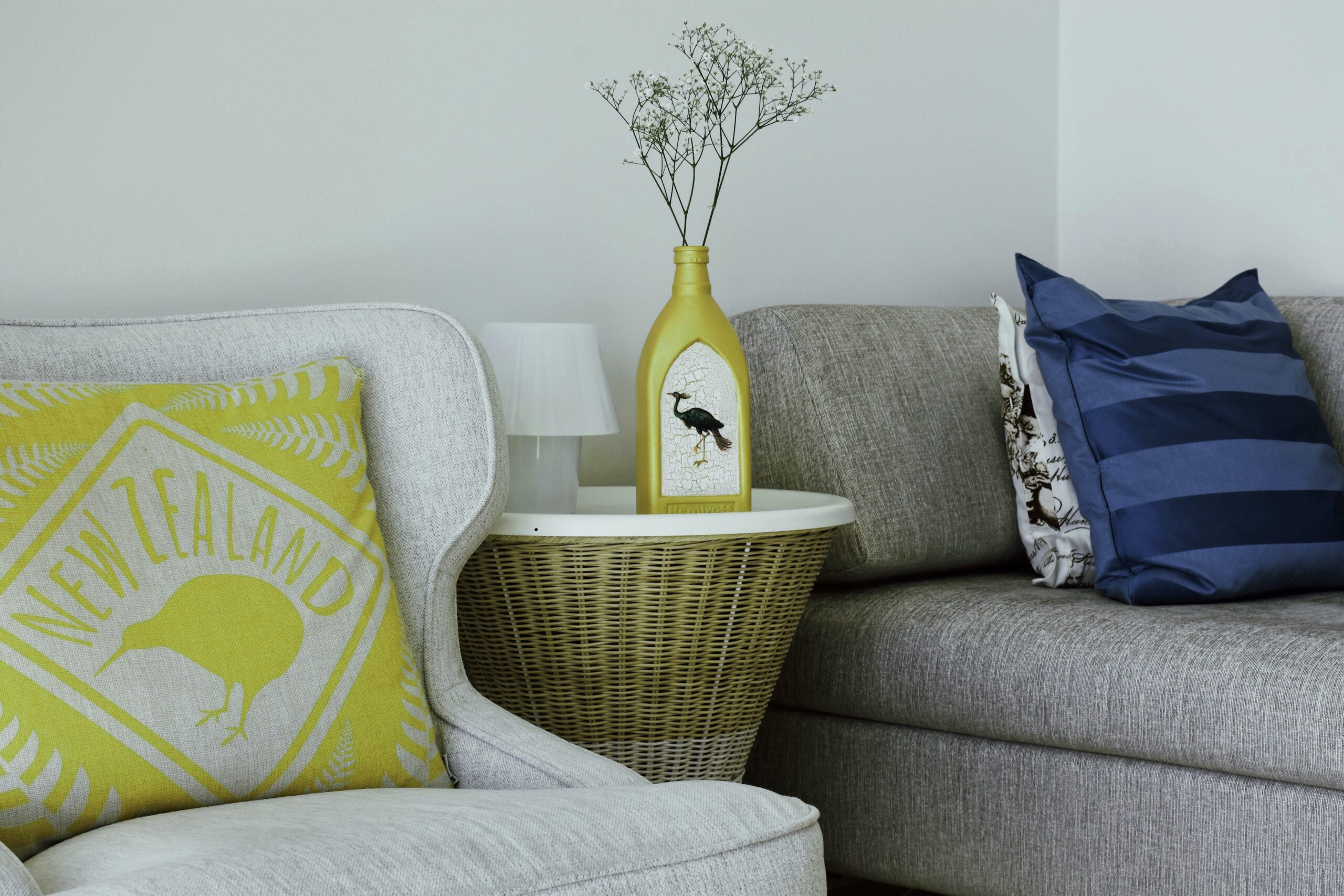 Pantone Colour Of The Year 2021 - Ultimate Gray and Illuminating, in home decor