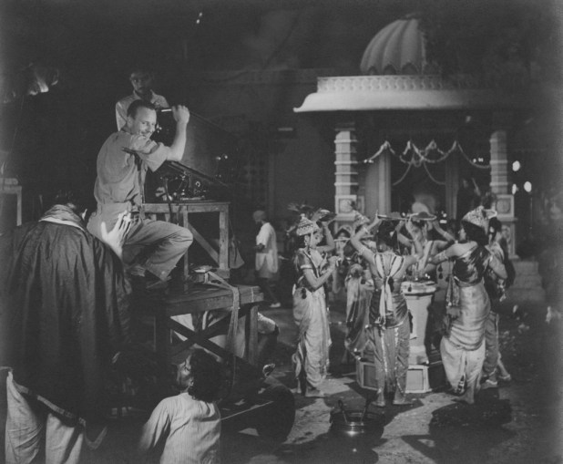 Ellis R Dungan directing 'Meera'. Courtesy West Virginia State Archives, USA.