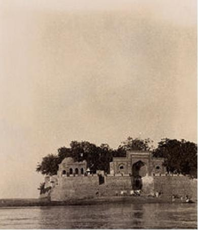 Zinda Pir shrine, 1926