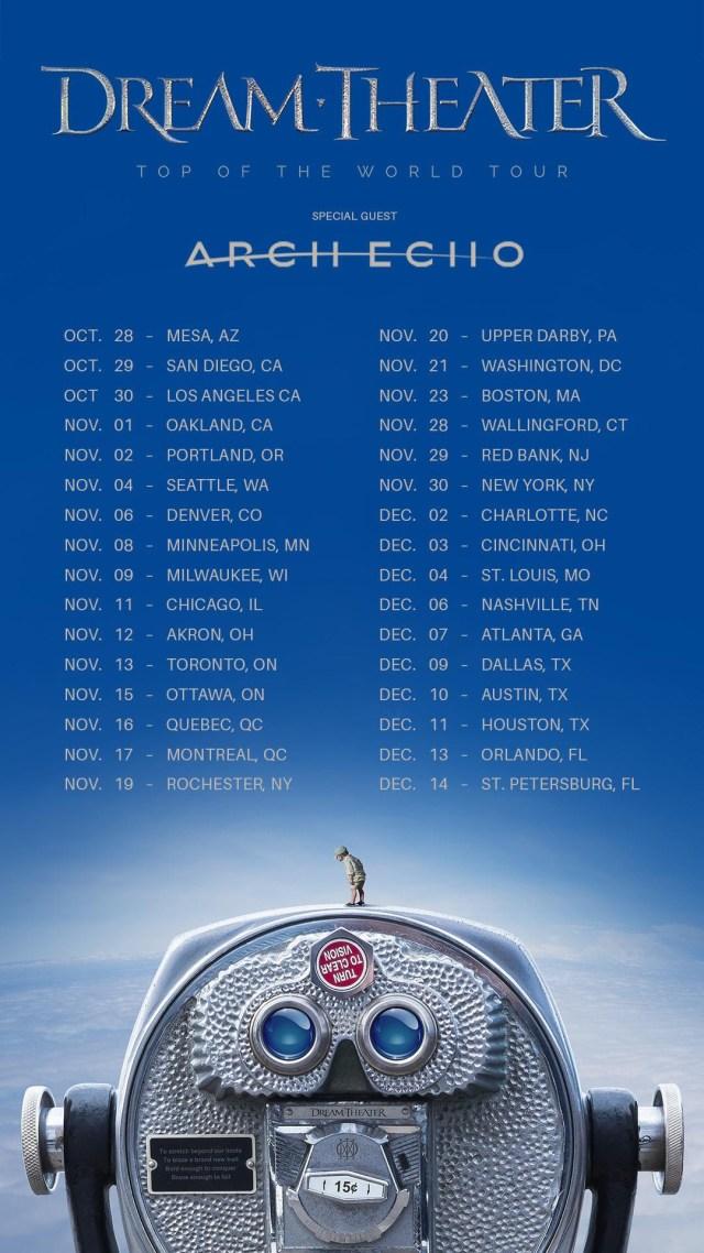 Dream Theater 2021 Tour