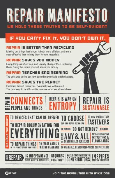 repair manifesto ifixit