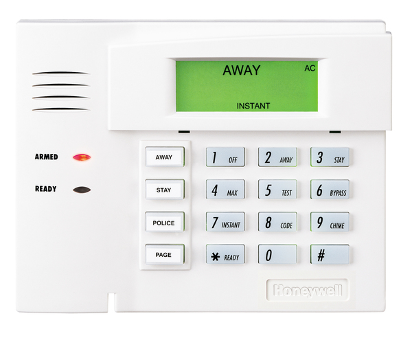 Wireless Alarm System Keypad