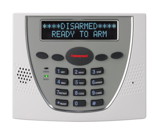 Honeywell 6460 Premium Alphanumeric Alarm Keypad Alarm