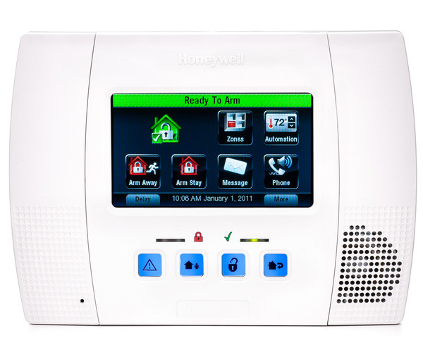 Honeywell L5100 LYNX Touch Wireless Alarm Control Panel