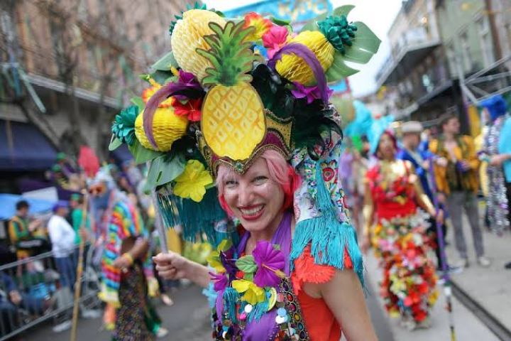 Things to do in New Orleans; Mardi Gras festival