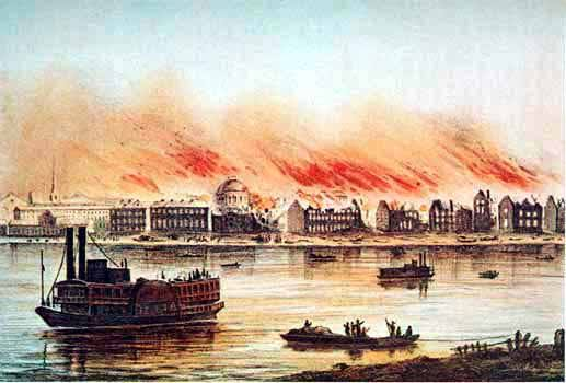 The great fire of 1788 in NOLA