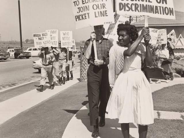 History if NOLA; civil rights movement