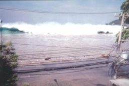 Tsunami of 2004 in Phuket