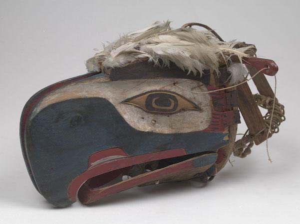 Kwakwaka'wakw Eagle Mask from Alert Bay, British Columbia