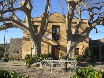 El Mas de la Calderera - the family home where Gaudi would spend his summers when younger.