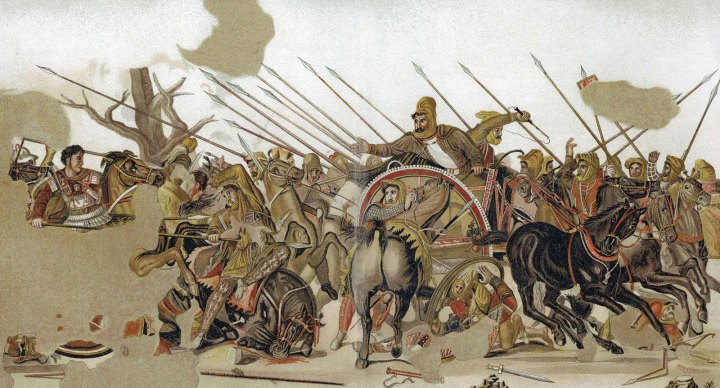Persian Battle against Greece