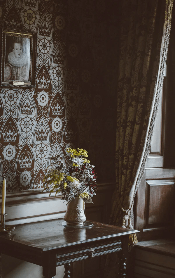 Wallpaper or paint feature wall