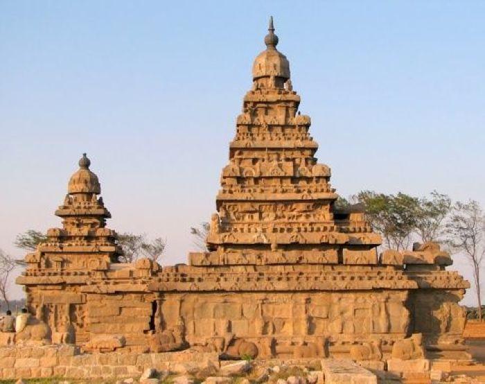 A colour photograph of a lasting temple during the Gupta period in Ancient India.