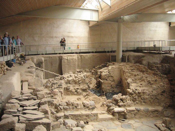Akrotiri Thera Archaeological Findings