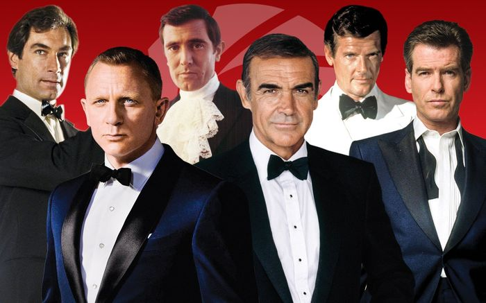 Actors who played James Bond characters
