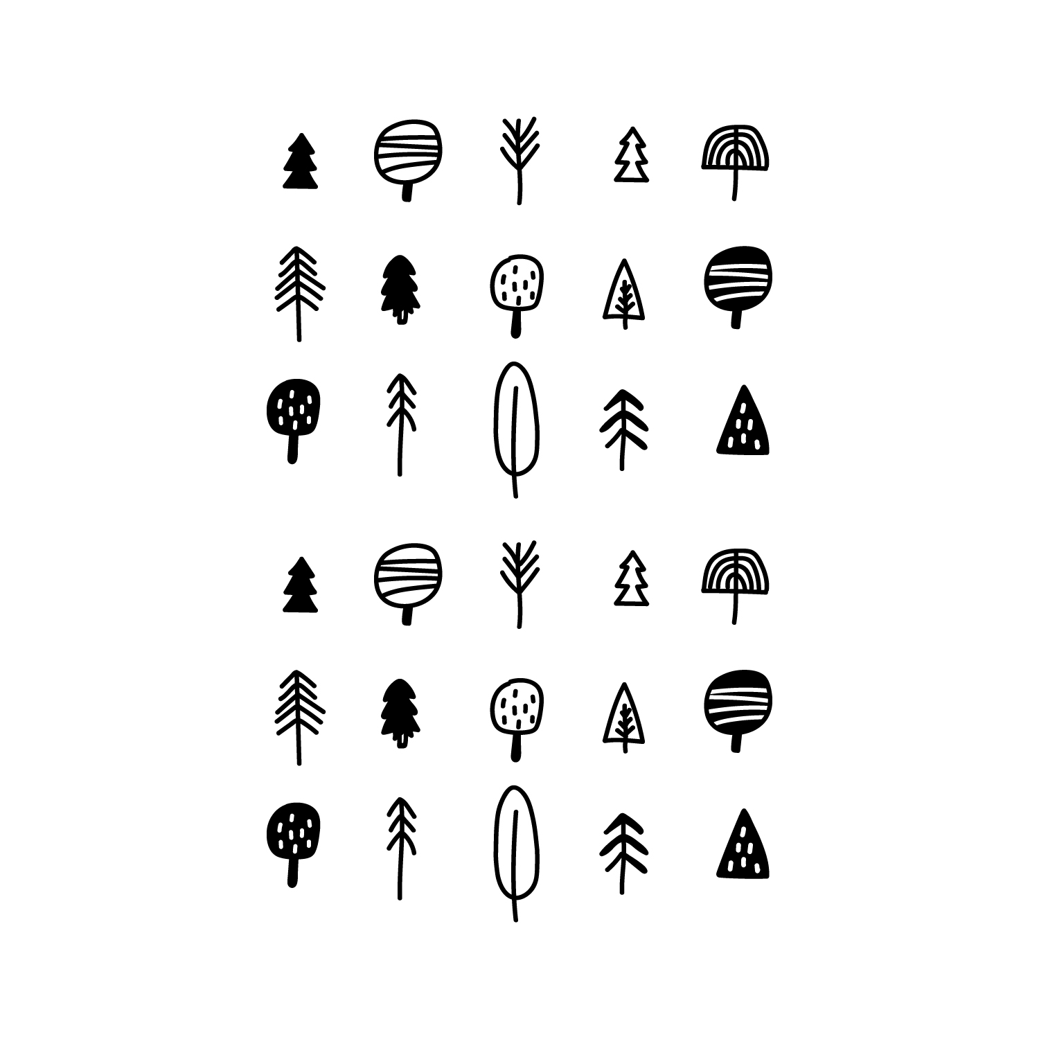 30 Pieces Of Vinyl Wall Art Decal