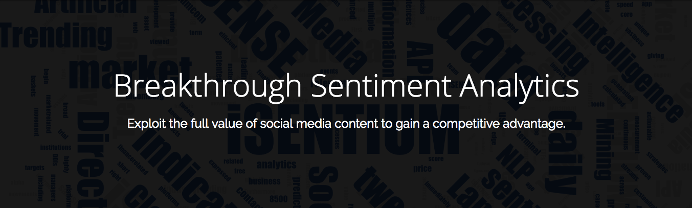 Machine Intelligence iSentium: Breakthrough Sentiment Analysis