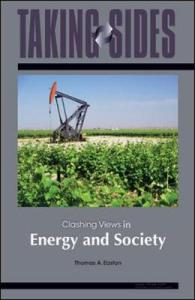 Clashing Views in Energy and Society   Thomas A  Easton   9780078127557 Clashing Views in Energy and Society