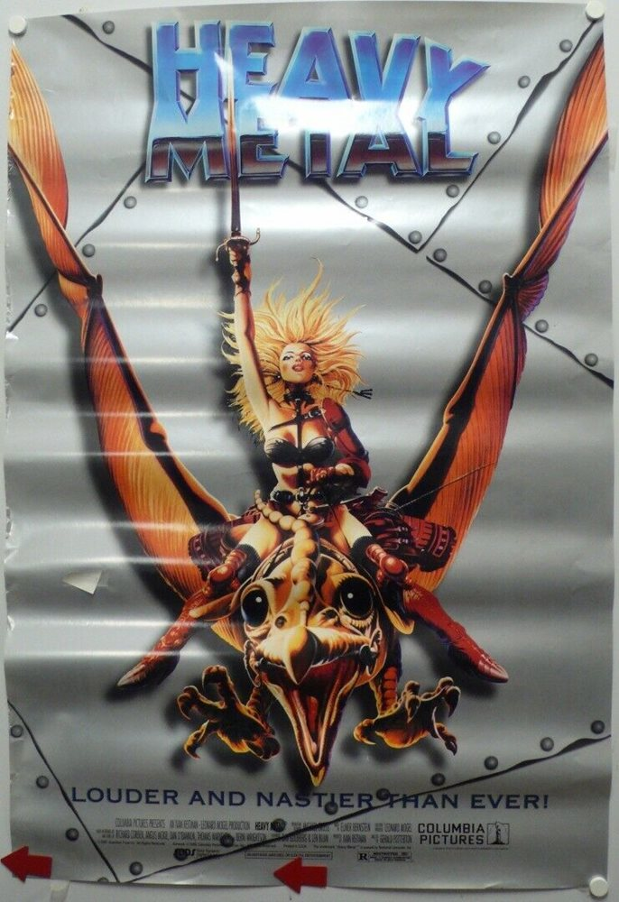heavy metal movie poster made in 1981