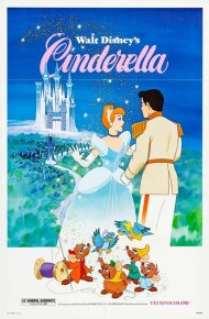 CINDERELLA (1950) ORIGINAL MOVIE POSTER - RE-RELEASE 19