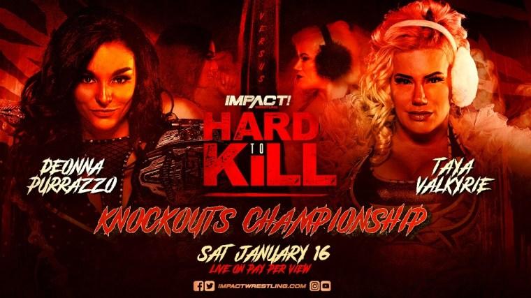 Virtuosa vs Wera Loca at Hard To Kill – IMPACT Wrestling