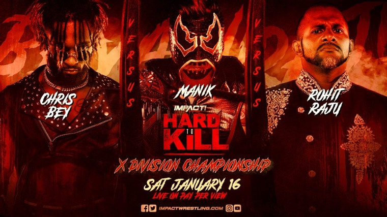 Rohit Raju's X-Division Title Rematch Becomes Triple Threat at Hard To Kill – IMPACT Wrestling