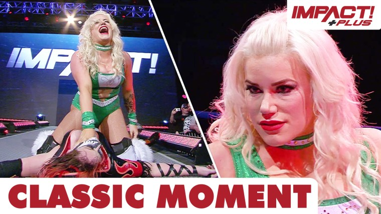 Taya Valkyrie Returns to IMPACT, Lays Out Rosemary! – IMPACT Wrestling