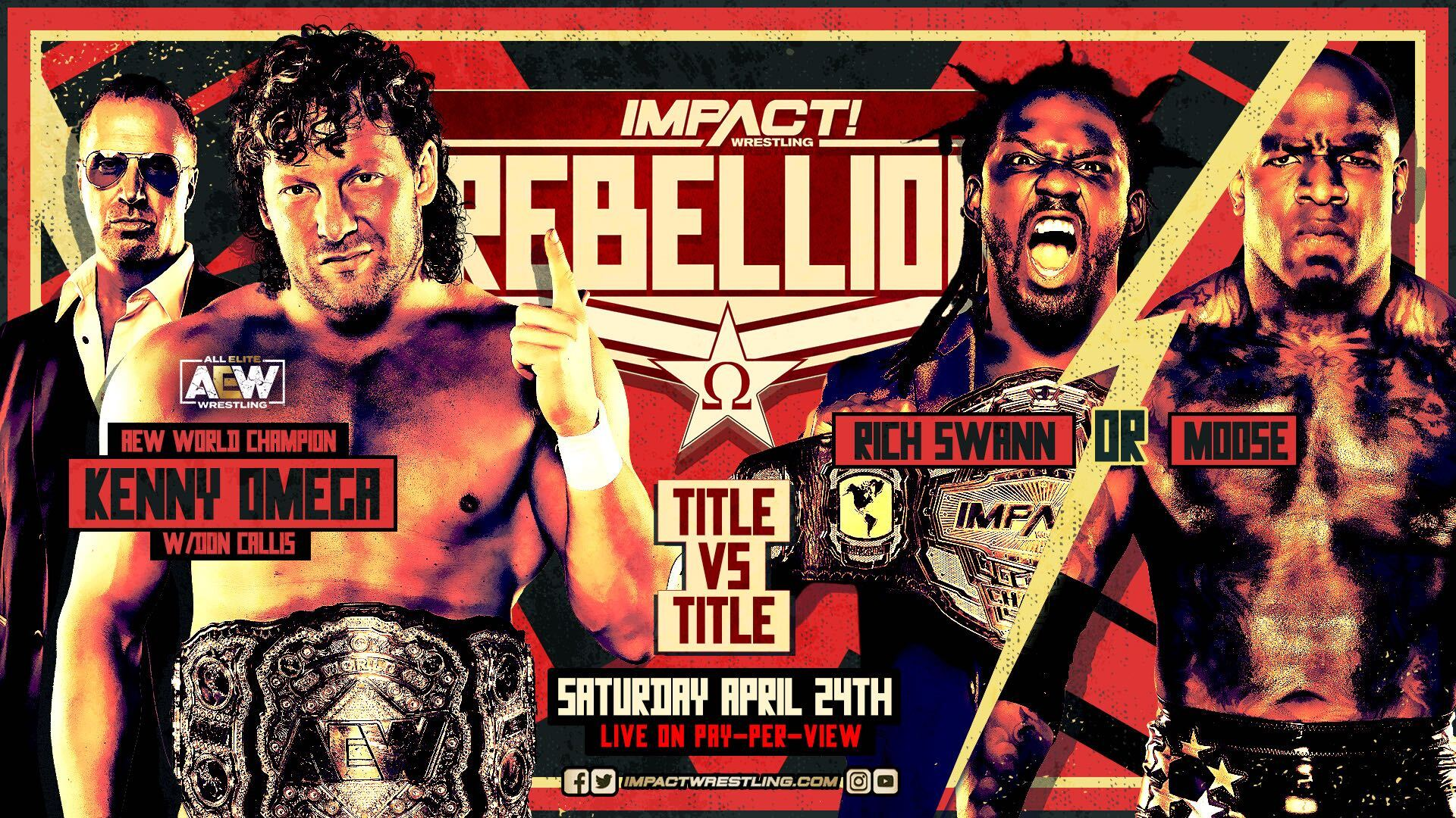 'HISTORIC' STAKES ADDED TO SWANN vs. MOOSE – IMPACT Wrestling