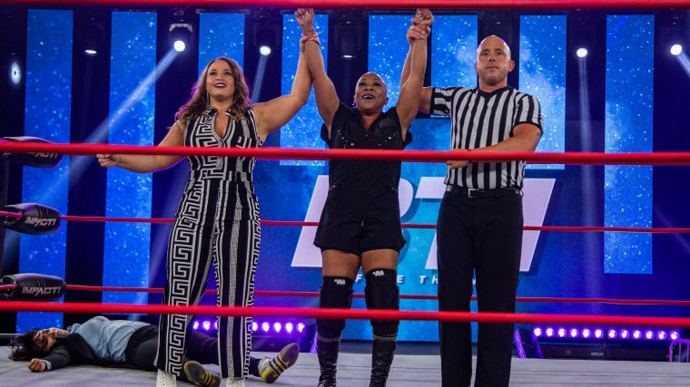 Jazz Wins on BTI Just Days Before Career vs Title Match – IMPACT Wrestling