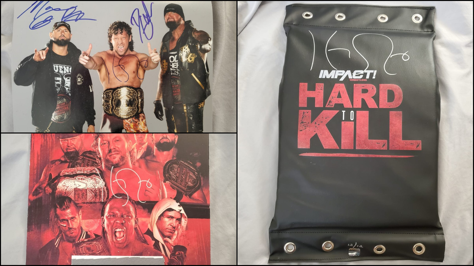 Autographed Kenny Omega Collectibles Now Available on eBay – IMPACT Wrestling
