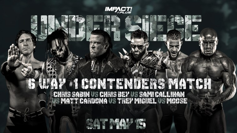 Field Set for #1 Contenders Match, Morrisey Battles Mack & More at Under Siege – IMPACT Wrestling