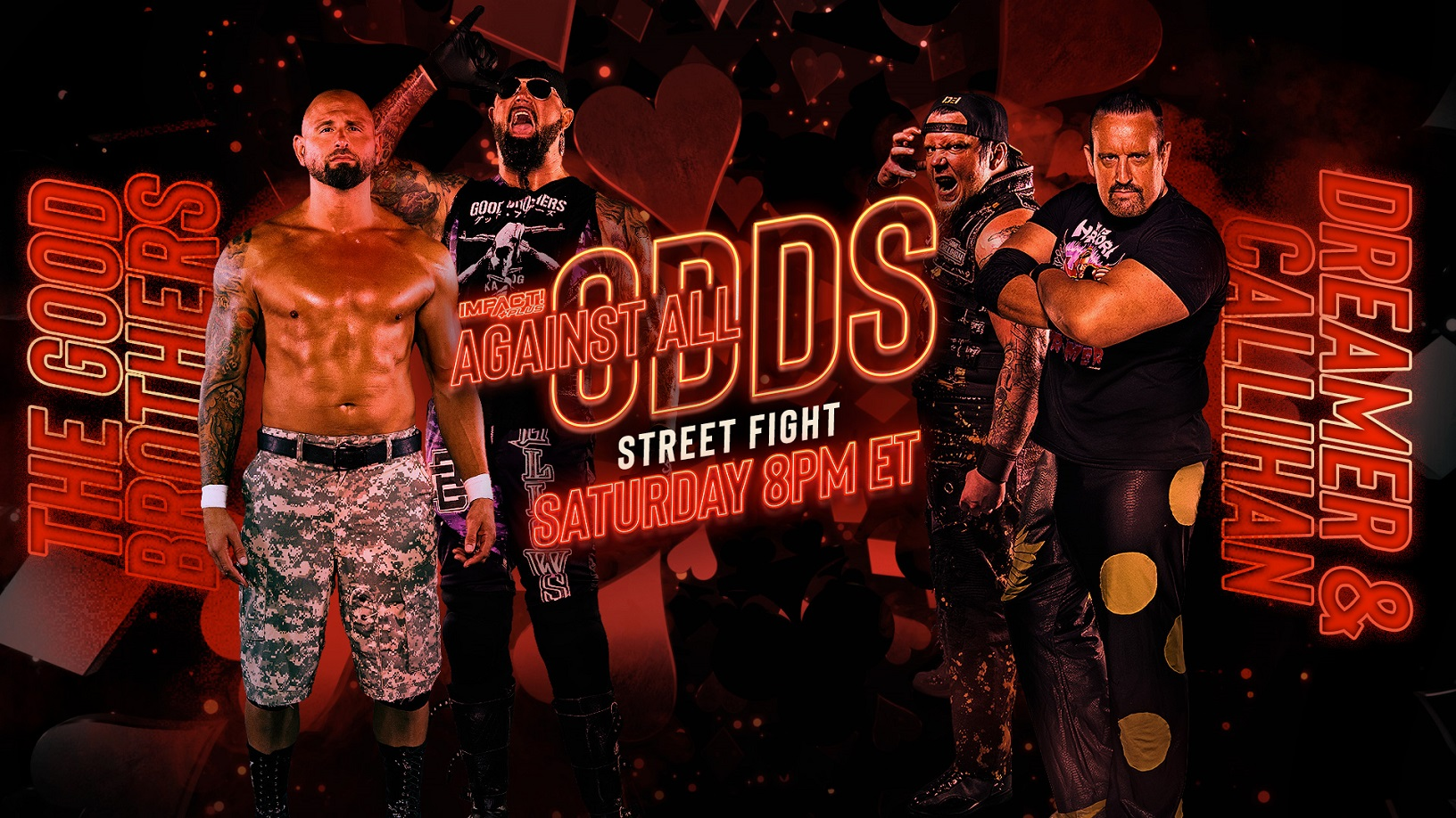Street Fight & Knockouts Warfare Round Out Card for Against All Odds – IMPACT Wrestling