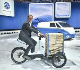 Volkswagen Launches Cargo E-Bike