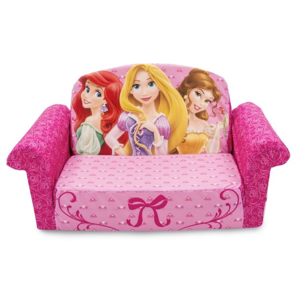 Spin Master   Marshmallow Furniture Flip Open Sofa Disney Princess Flip Open Sofa Disney Princess