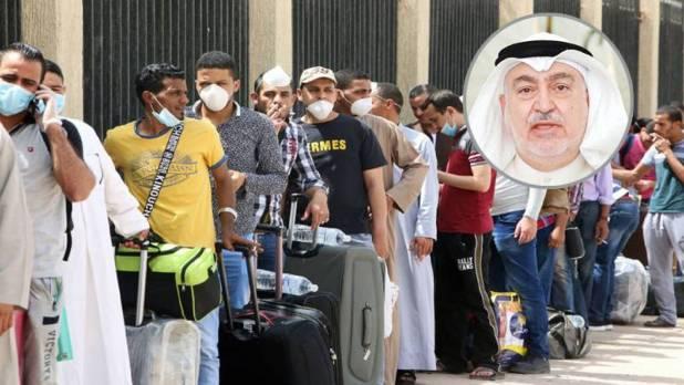 ترحيل %70 من العمالة الوافدة بالكويت وحقيقة ترحيل العمالة الوافدة اختيارى أم إجبار الترحيل لجميع الجنسيات من الكويت