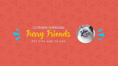 Your youtube banner is a 24x7 invitation that makes viewers stay longer and watch your videos. Placeit Youtube Channel Art Maker With Cat Images