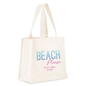 8459 48 w beach please personalized tote bagd00bfc3f2506e90d418079fcdd594d4f - Custom Cotton Tote Bags On Sale