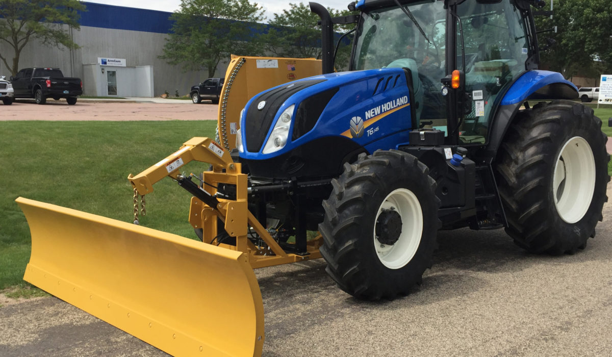 This is a custom build so you'll definitely. Snow Plow Tiger Mowers