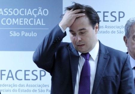 Rodrigo Maia (Foto WERTHER SANTANA/ESTADÃO CONTEÚDO)