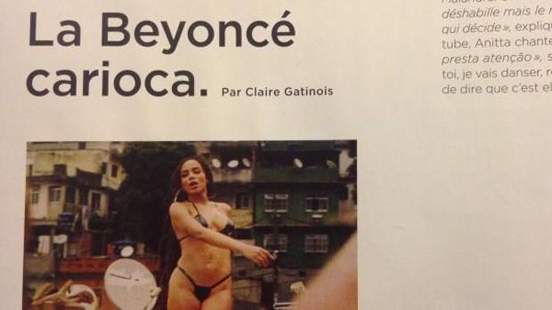 Folha do Sudoeste a9 Anitta é chamada de 'Beyoncé carioca' por revista francesa ENTRETENIMENTO