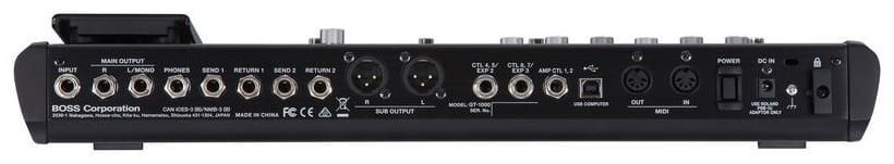 Procesor pentru chitara electrica Boss GT-1000