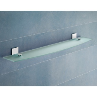 glass bathroom shelves & racks - thebathoutlet