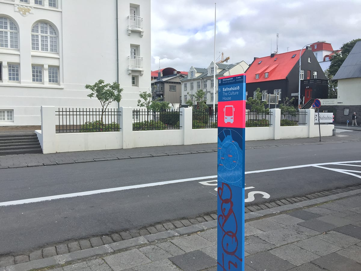 Bus Stop 4 Tryggvagata Tryggvagata 28