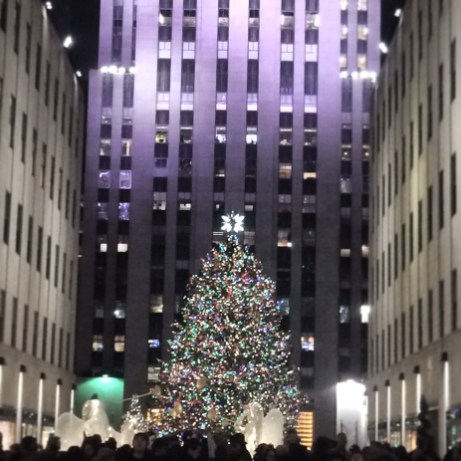 Seeing the Rockefeller tree never gets old!