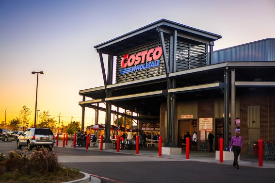 Costco warehouse: New Orleans, LA (Photo Credit: George Kuchler)