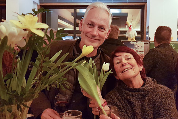 Paul Bush and Nancy