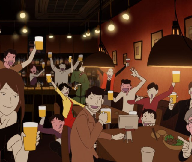 For Me The Tatami Galaxy Was Love At First Sight Based On The Novel By Tomihiko Morimi This Eclectic 11 Episode Series Directed By Masaaki Yuasa About An